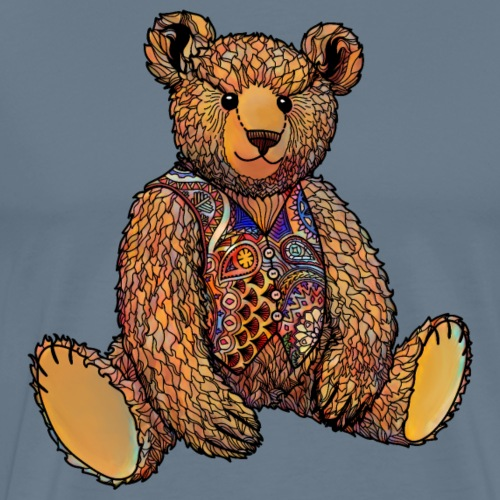 Watercolour Ted - Men's Premium T-Shirt