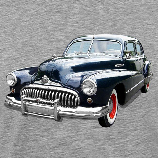 Classic Car. Buick zwart.