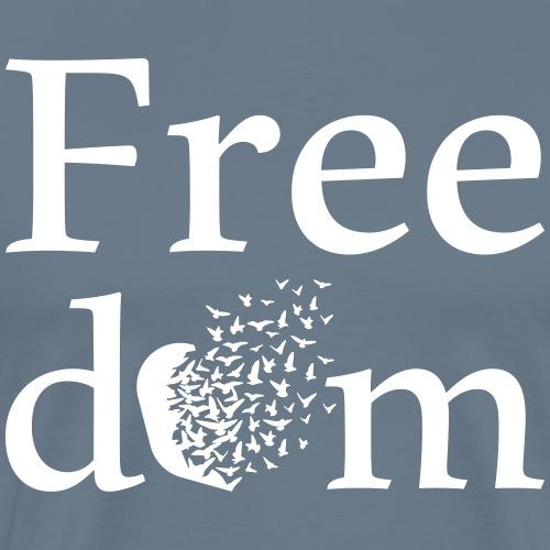 freedom - Männer Premium T-Shirt