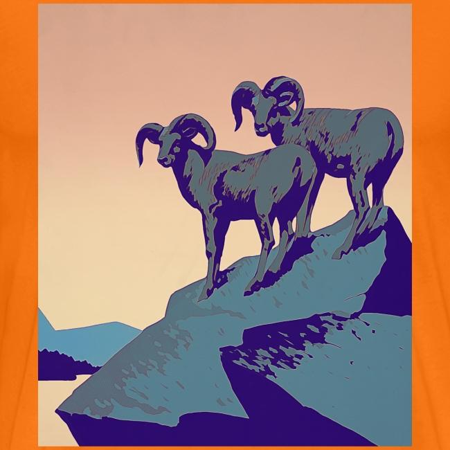 Vintage Capricorn Travel Poster