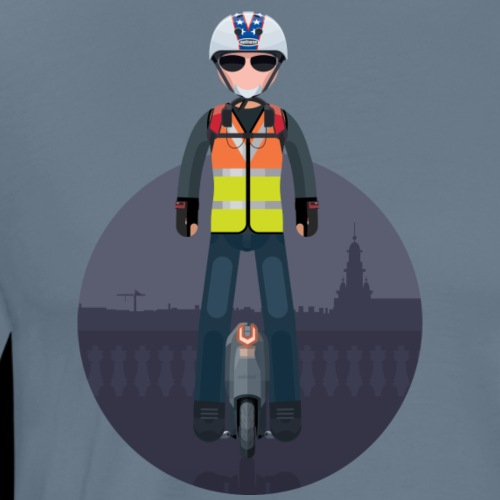 Wheels Fighters - T-shirt Premium Homme