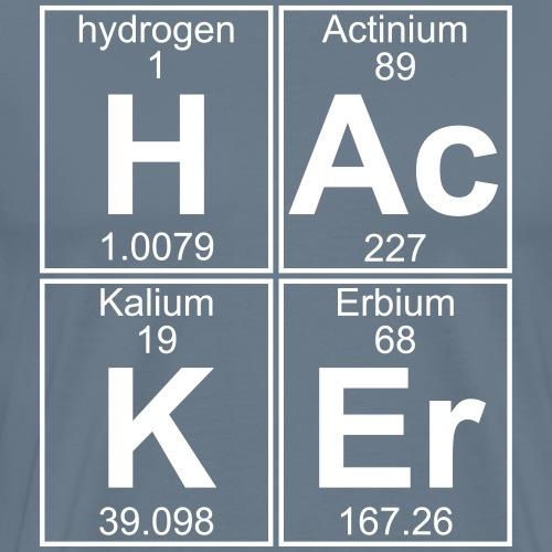 H-Ac-K-Er (hacker) - Full - Men's Premium T-Shirt