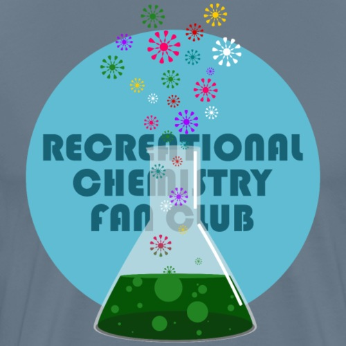 Recreational Chemistry Fan Club (azul) - Camiseta premium hombre