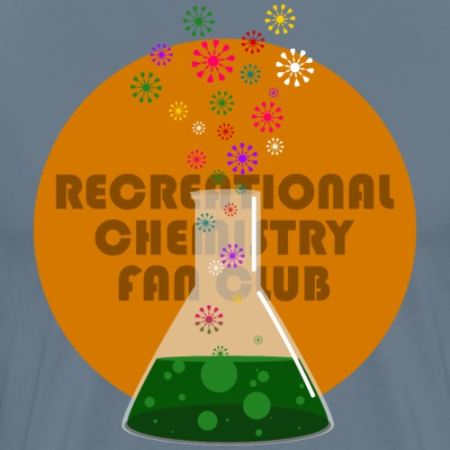 Recreational Chemistry Fan Club (naranja) - Camiseta premium hombre