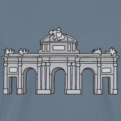 Alcalá-Tor Madrid c - Männer Premium T-Shirt