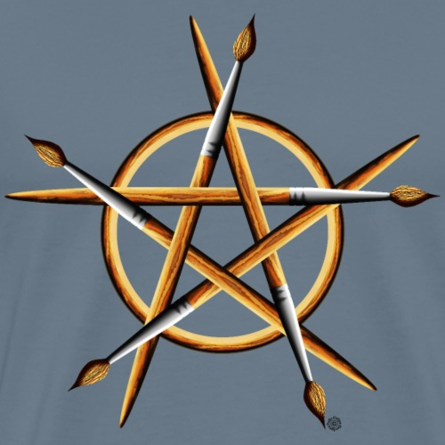 PAGAN PAINTER - Men's Premium T-Shirt