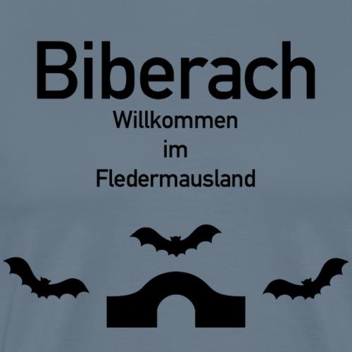 Biberach Fledermausland - Männer Premium T-Shirt