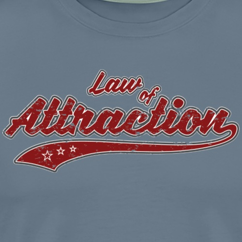Law of Attraction Vintage - T-shirt Premium Homme