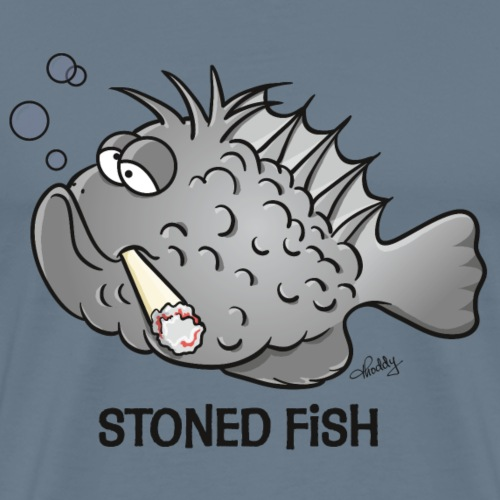 stonedfish - Männer Premium T-Shirt