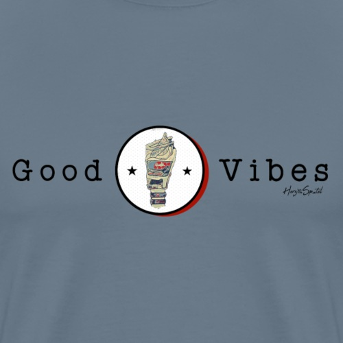 Good Vibrations - Männer Premium T-Shirt