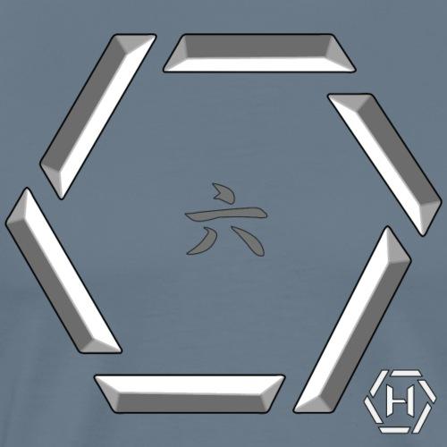 Hex kanji 6 regular - Maglietta Premium da uomo
