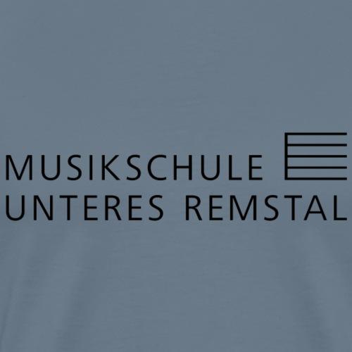 MSUR logo schwarz - Männer Premium T-Shirt
