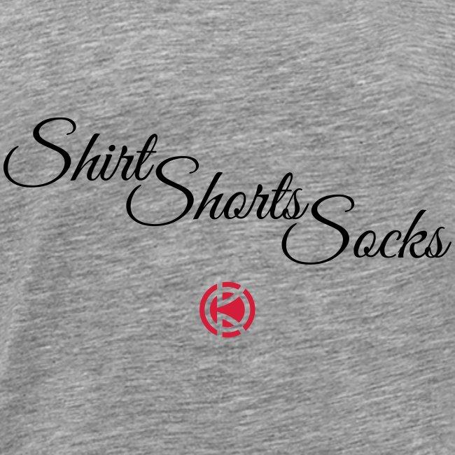 Shirt, Shorts, Socks