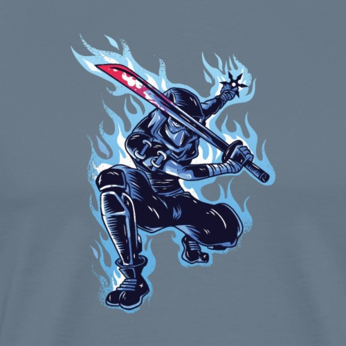 "Ninja sword T-Shirt ""Limitierte Edition"""