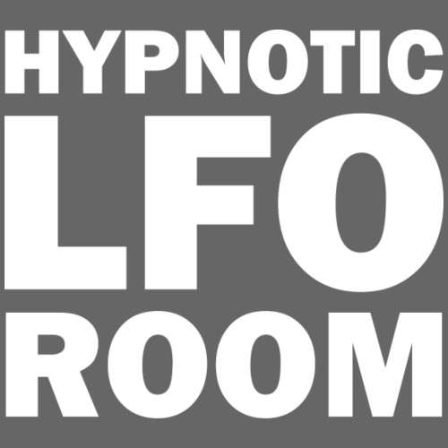 The Hypnotic Lfo Room White Logo - Men's Premium T-Shirt