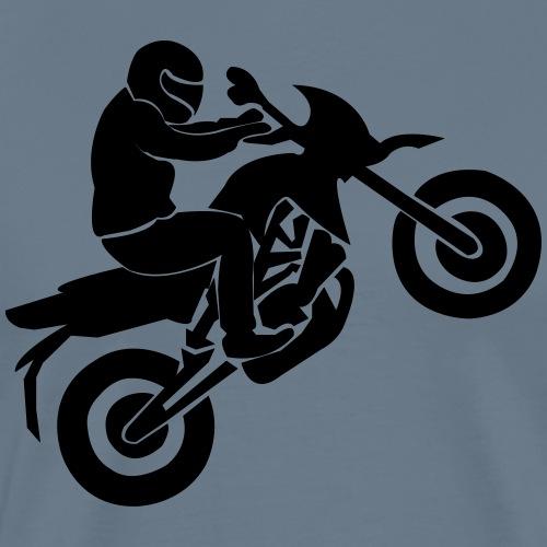 Motorradfahrer - Männer Premium T-Shirt