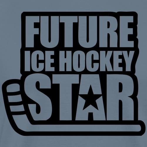 Future Ice Hockey Star - Men's Premium T-Shirt