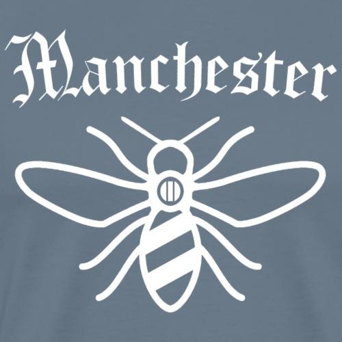 Manchester Little White - Männer Premium T-Shirt