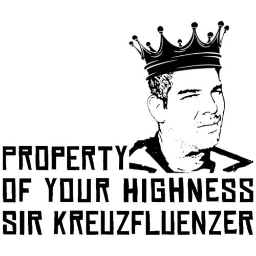 Property of your Highness Black - Männer Premium T-Shirt