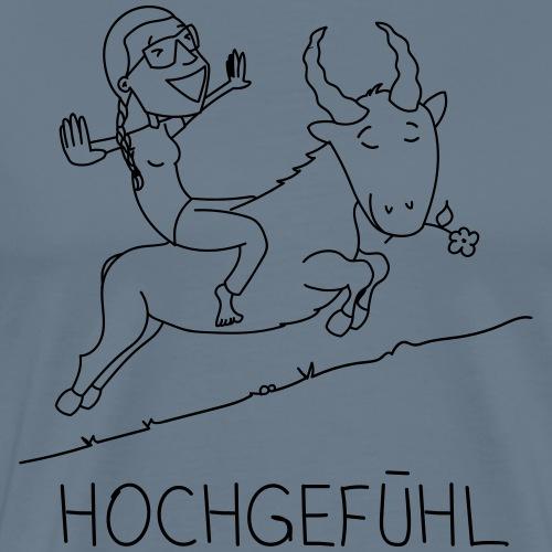 Hochgefühl - Männer Premium T-Shirt
