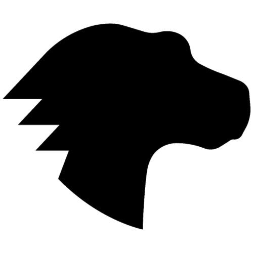 Dino Positive Logo - Men's Premium T-Shirt