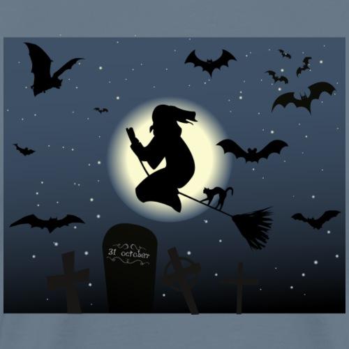 halloween-478582_1280 - Premium-T-shirt herr