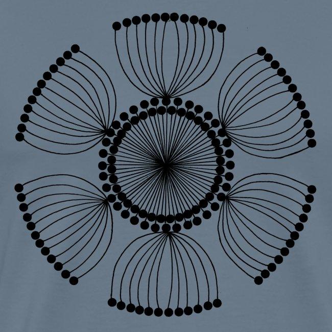 Poppy Seeds Mandala
