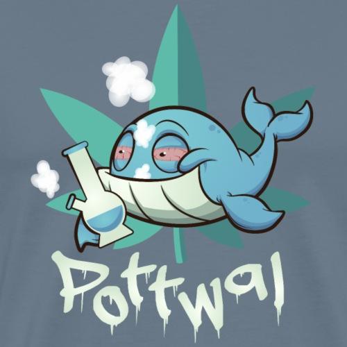 Der Pottwal - Männer Premium T-Shirt