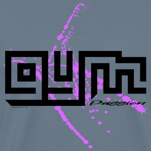 GYM PASSION cool textiles, gifts for everyone - Miesten premium t-paita