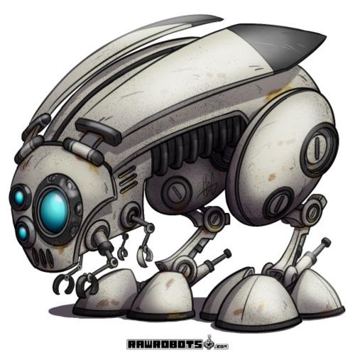 BeeBunnyBot - Herre premium T-shirt