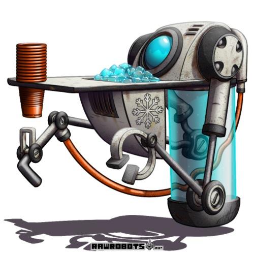 The W.A.T.E.R. Robot! - Herre premium T-shirt