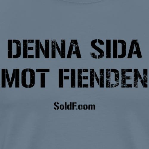 DENNA SIDA MOT FIENDEN (Rugged) - Premium-T-shirt herr