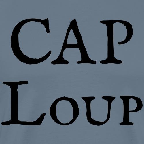 CAP Loup seul - T-shirt Premium Homme