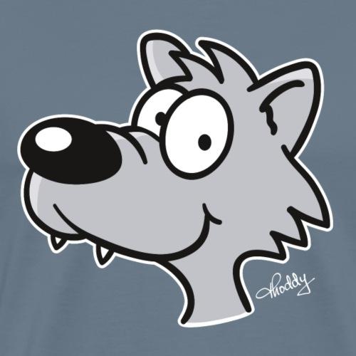 Thoddys Wolf - Männer Premium T-Shirt