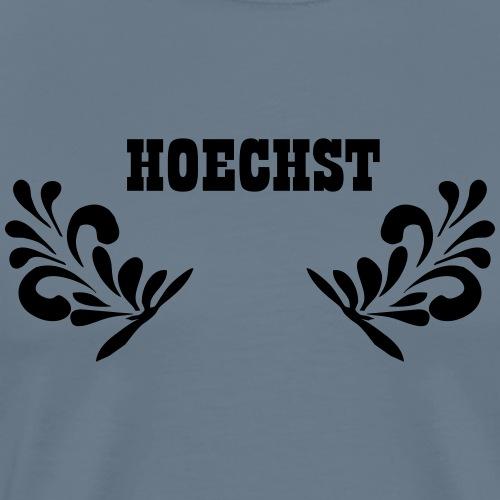 HOECHST - Frankfurt Stadtteil Shirt - Männer Premium T-Shirt