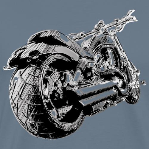 Illustration Moto - T-shirt Premium Homme