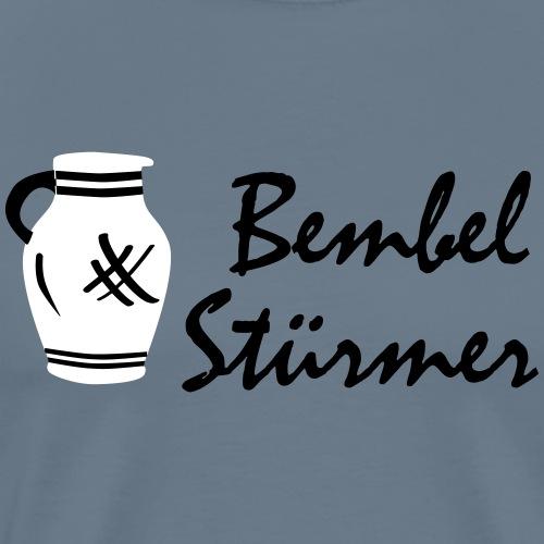 Bembel Stürmer #Bembeltown - Männer Premium T-Shirt