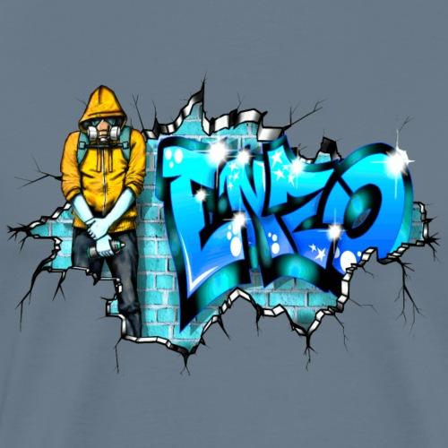 GRAFFITI ENZO PRINTABLE ON EVERYTHING - T-shirt Premium Homme