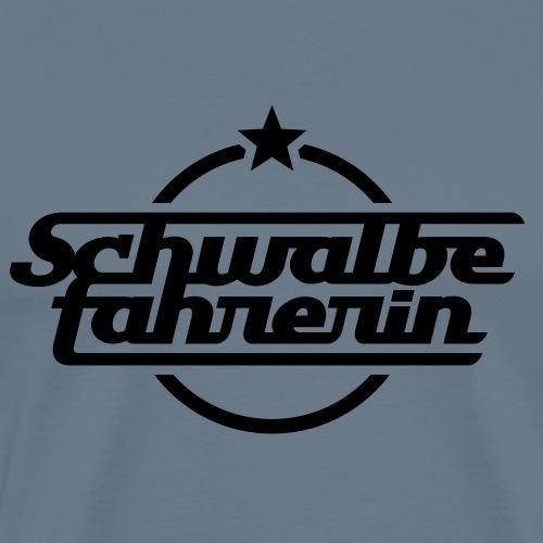 Schwalbefahrerin - Men's Premium T-Shirt