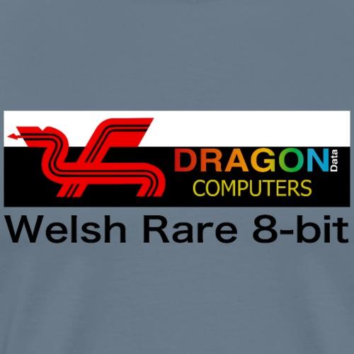 Dragon Computers - the real Welsh Rare 8-bit - Men's Premium T-Shirt