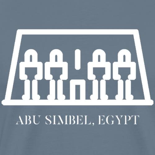 ABU SIMBEL EGYPT - WHITE - T-shirt Premium Homme