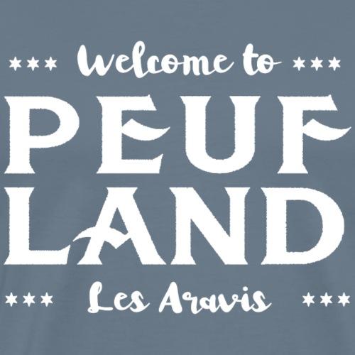 Peuf Land Aravis - White - T-shirt Premium Homme