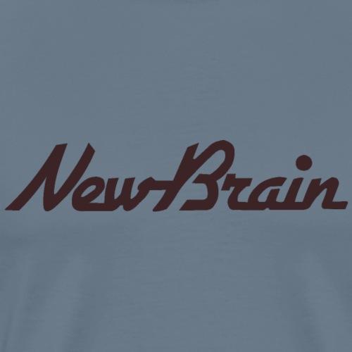 New Brain - but what's the message? - Men's Premium T-Shirt