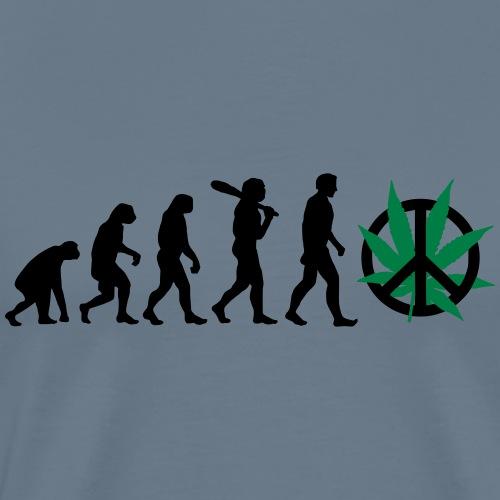 Evolution Cannabis - Männer Premium T-Shirt