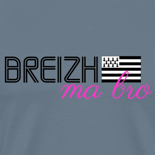 Bretagne - Breizh ma bro #3 - T-shirt Premium Homme