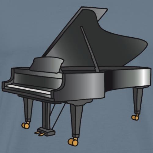 Klavier / Flügel / Piano - Männer Premium T-Shirt