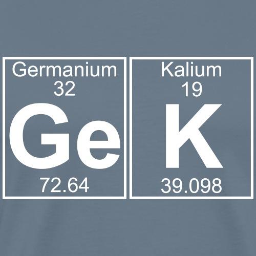 Ge-K (gek) - Full - Men's Premium T-Shirt