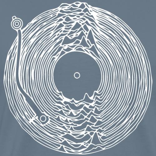 Disque vinyle en vrac - DJ - toutes les motifs - T-shirt Premium Homme