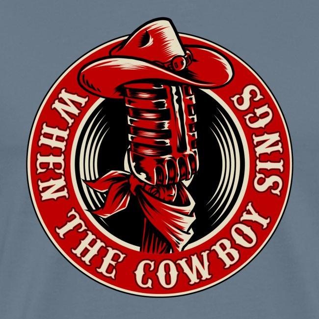 Logo when the cowboy sings