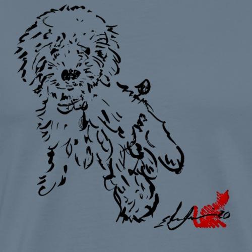 barboncino 2 NERO - Maglietta Premium da uomo